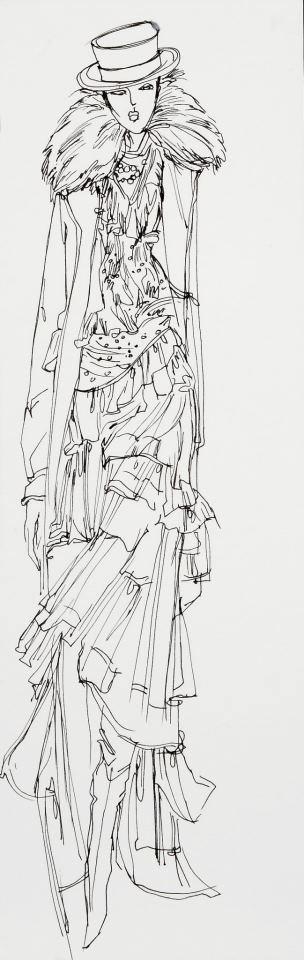 Denise Fike Sketch